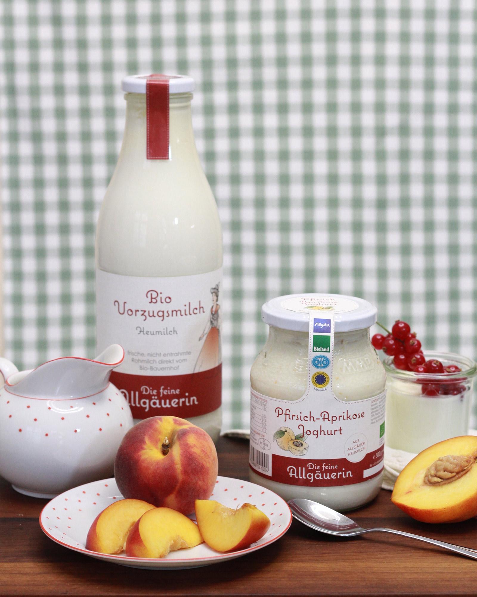 Vorzugsmilch und Joghurt